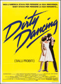 "Movie Posters:Romance, Dirty Dancing (Vestron, 1987). Italian 2 - Fogli (39.25"" X 55""). Romance.. ..."