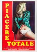 "Movie Posters:Adult, Femmes Entre Hommes & Other Lot (Discop, 1982). Italian 2 -Foglis (2) (39.25"" X 55"") Italian Title: Piacere Totale.Adu... (Total: 2 Items)"