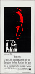 "Movie Posters:Crime, The Godfather (Paramount, 1972). Italian Locandina (13"" X 27.5""). Crime.. ..."