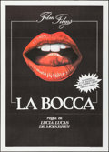 "Movie Posters:Foreign, La Bocca & Other Lot (Film Films, 1986). Italian 2 - Foglis (2)(39.25"" X 55""). Foreign.. ... (Total: 2 Items)"