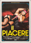"Movie Posters:Adult, The Pleasure (DMV Distribuzione, 1985). Italian 2 - Fogli (39.25"" X55.25"") Enzo Sciotti Artwork. Adult.. ..."