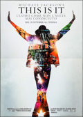"Movie Posters:Documentary, This Is It (Sony, 2009). Italian 4 - Fogli (55"" X 77"").Documentary.. ..."