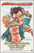 "Movie Posters:Western, Arrowhead (Paramount, 1953). One Sheet (26.75"" X 41.5""). Western....."