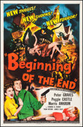 "Movie Posters:Science Fiction, Beginning of the End (Republic, 1957). One Sheet (27"" X 41"").Science Fiction.. ..."