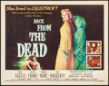 "Movie Posters:Horror, Back from the Dead (20th Century Fox, 1957). Half Sheet (22"" X28""). Horror.. ..."