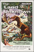 "Movie Posters:Science Fiction, The Land Unknown (Universal International, 1957). One Sheet (27"" X41.5""). Ken Sawyer Artwork. Science Fiction.. ..."