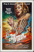 "Movie Posters:Horror, The Cauldron of Death & Other Lot (Film Ventures International,1979). One Sheets (2) (27"" X 41""). Horror.. ... (Total: 2 Items)"