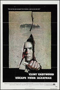 """Escape from Alcatraz & Other Lot (Paramount, 1979). One Sheets (2) (27"""" X 41""""). Thriller. ... (Total: 2 It..."""