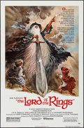 "Movie Posters:Animation, The Lord of the Rings (United Artists, 1978). One Sheet (27"" X 41"")Tom Jung Artwork. Animation.. ..."