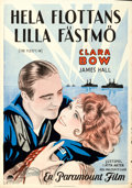 """Movie Posters:Comedy, The Fleet's In (Paramount, 1928). Swedish One Sheet (27.5"""" X39.5""""). Comedy.. ..."""