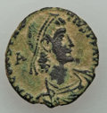 Ancients:Ancient Lots , Ancients: ANCIENT LOTS. Roman Imperial. Ca. AD 307-361. Lot of five(5) AE issues. About VF-VF.... (Total: 5 coins)