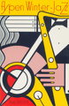 Roy Lichtenstein (1923-1997) Aspen Winter Jazz Poster, 1967 Screenprint in colors on wove paper 39-7/8 x 26 inches (1...