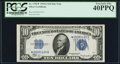 Small Size:Silver Certificates, Fr. 1702* $10 1934A Silver Certificate. PCGS Extremely Fine 40PPQ.. ...