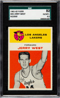 Basketball Cards:Singles (Pre-1970), 1961 Fleer Jerry West #43 SGC 82 EX/MT+ 6.5....