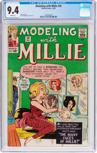 Modeling with Millie #28 (Marvel, 1963) CGC NM 9.4 White pages