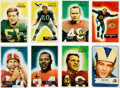Football Cards:Lots, 1954 and 1955 Bowman Football Collection (300+)....