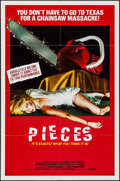 "Movie Posters:Horror, Pieces & Other Lot (Almena, 1982). One Sheets (2) (27"" X 41"").Horror.. ... (Total: 2 Items)"