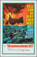 "Movie Posters:War, Submarine X-1 & Other Lot (United Artists, 1968). One Sheets(2) (27"" X 41""). War.. ... (Total: 2 Items)"
