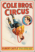 "Movie Posters:Miscellaneous, Cole Brothers Circus (Cole Bros., 1940s). Poster (28"" X 41"").Miscellaneous.. ..."