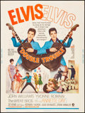 "Movie Posters:Elvis Presley, Double Trouble (MGM, 1967) Rolled, Very Fine. Poster (30"" X 40""). Elvis Presley...."
