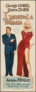 "Movie Posters:Comedy, I Married a Woman (RKO, 1958). Insert (14"" X 36""). Comedy.. ..."