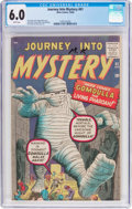 Silver Age (1956-1969):Horror, Journey Into Mystery #61 (Marvel, 1960) CGC FN 6.0 White pages....