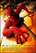 "Movie Posters:Action, Spider-Man & Others Lot (Columbia, 2002). One Sheets (3)(26.75"" X 39.75"" & 27"" X 40"") SS Advance. Action.. ... (Total:3 Items)"