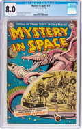 Golden Age (1938-1955):Science Fiction, Mystery in Space #14 (DC, 1953) CGC VF 8.0 Off-white pages....