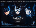 "Movie Posters:Action, Batman Returns (Warner Brothers, 1992). Bus Shelter (45"" X 59.25"")Advance. Action.. ..."