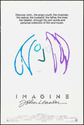 "Movie Posters:Rock and Roll, Imagine: John Lennon (Warner Brothers, 1988). One Sheet (27"" X 41"")Purple/Blue Style, John Lennon Artwork. Rock and Roll.. ..."