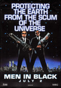 """Movie Posters:Science Fiction, Men in Black (Columbia, 1997). Bus Shelter (48"""" X 70"""") Advance.Science Fiction.. ..."""