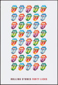 "Movie Posters:Rock and Roll, Rolling Stones Forty Licks (2002). Poster (18"" X 26""). Rock andRoll.. ..."