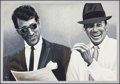 Movie Posters:Musical, Frank Sinatra and Dean Martin in Ring a Ding Ding (Nicolas Macchio,1999). Signed & Numbered Limited Edition Serigraph (31.5...