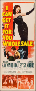 "Movie Posters:Drama, I Can Get It for You Wholesale (20th Century Fox, 1951). Insert(14"" X 36""). Drama.. ..."