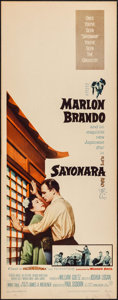 """Movie Posters:Romance, Sayonara & Other Lot (Warner Brothers, 1957). Inserts (2) (14""""X 36""""). Romance.. ... (Total: 2 Items)"""