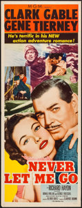 """Movie Posters:Adventure, Never Let Me Go & Other Lot (MGM, 1953). Inserts (2) (14"""" X36""""). Adventure.. ... (Total: 2 Items)"""