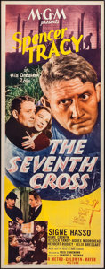 "Movie Posters:Drama, The Seventh Cross & Other Lot (MGM, 1944). Inserts (2) (14"" X36""). Drama.. ... (Total: 2 Items)"