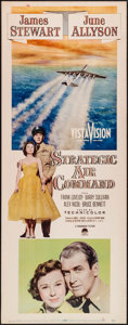 "Movie Posters:Drama, Strategic Air Command & Other Lot (Paramount, 1955). Inserts(2) (14"" X 36""). Drama.. ... (Total: 2 Items)"