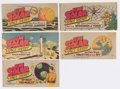 Golden Age (1938-1955):Miscellaneous, Wisco/Klarer Miniature Promotional Comic Book Group of 5(Wisco/Klarer, 1950s) Condition: Average FN.... (Total: 5 Comic Books)