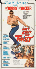 """Movie Posters:Rock and Roll, Don't Knock the Twist (Columbia, 1962). Three Sheet (41"""" X 79"""").Rock and Roll.. ..."""