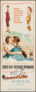 """Movie Posters:Comedy, The Tunnel of Love & Other Lot (MGM, 1958). Inserts (2) (14"""" X36""""). Comedy.. ... (Total: 2 Items)"""