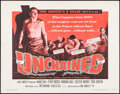 """Movie Posters:Crime, Unchained & Other Lot (Warner Brothers, 1955). Half Sheets (2)(22"""" X 28""""). Crime.. ... (Total: 2 Items)"""