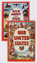 Golden Age (1938-1955):Miscellaneous, Our United States #nn and Our Army and Navy #nn Group (J. C. Penney Co., 1950) Condition: Average FN-.... (Total: 2 Comic Books)