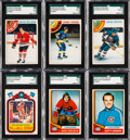 Hockey Cards:Sets, 1974 and 1978 O-Pee-Chee Hockey Complete Sets (2) With Doug Wilson SGC 98 GEM 10 Rookie....
