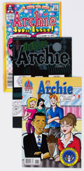 Modern Age (1980-Present):Humor, Archie Comics Box Lot (Archie, 1987-2012) Condition: AverageVF/NM....