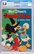 Golden Age (1938-1955):Cartoon Character, Donald Duck #26 (Dell, 1952) CGC VG/FN 5.0 Off-white to whitepages....