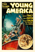 """Movie Posters:Drama, Young America (Fox, 1932). One Sheet (27"""" X 41"""").. ..."""