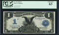 Large Size:Silver Certificates, Fr. 229 $1 1899 Silver Certificate PCGS Choice New 63.. ...