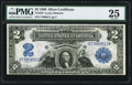 Large Size:Silver Certificates, Fr. 249 $2 1899 Silver Certificate PMG Very Fine 25.. ...