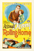 """Movie Posters:Comedy, Rolling Home (Universal, 1926). One Sheet (27"""" X 41"""").. ..."""